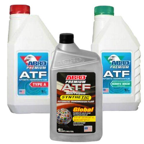 ABRO ATF - alyva automatinėms pavarų dėžėms ir hidraulikai 1