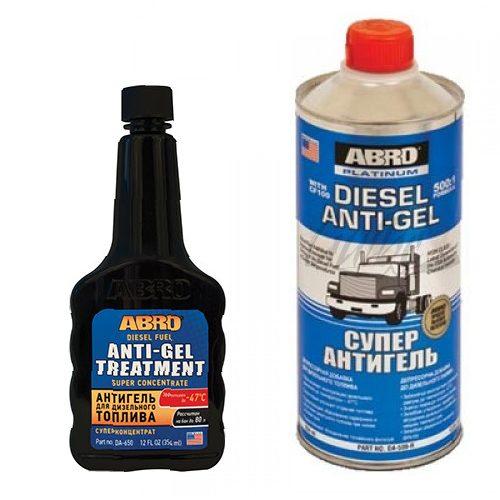 ABRO Diesel Anti-Gel - Dyzelinio kuro priedas 1
