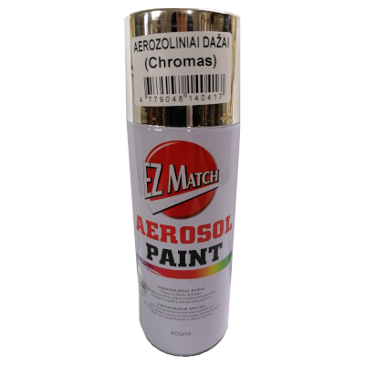 EZ Match chrominiai aerozoliniai dažai 1