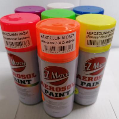 EZ Match aerozoliniai fluorescenciniai dažai 1
